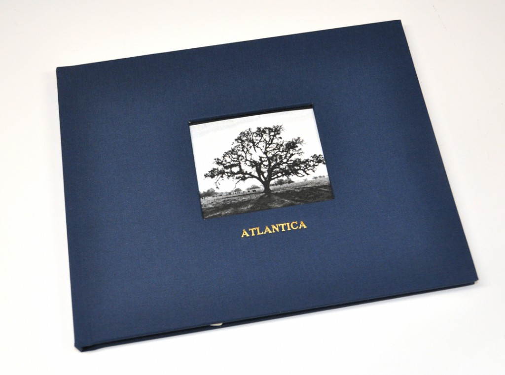 Midnight Navy Linen - Shown on Guest Book with Photo Frame