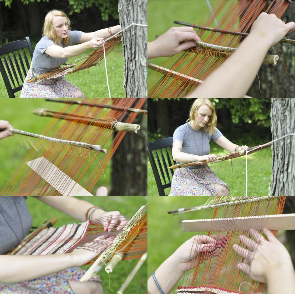 Jessie Weaving 1