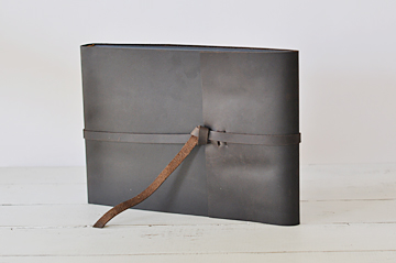 Leather Rustic Photo Album by Blue Sky Papers