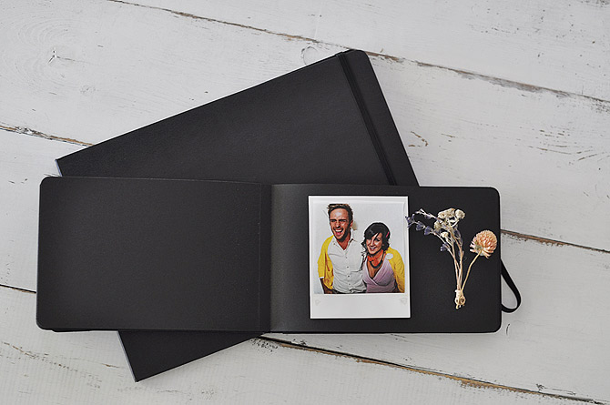 Moleskine Black Page Album in two sizes by Blue Sky Papers