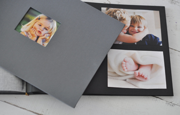 Classic Archival Album with Black Pages by Blue Sky Papers