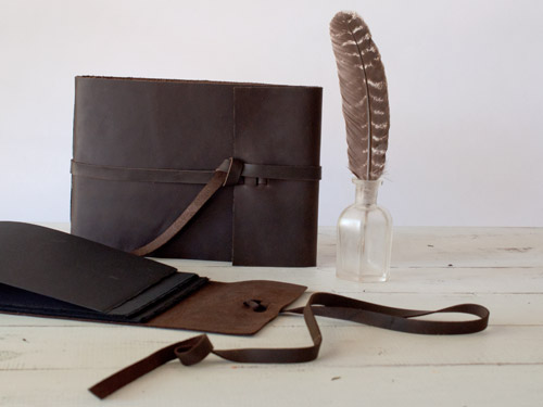 Leather Rustic by Blue Sky Papers
