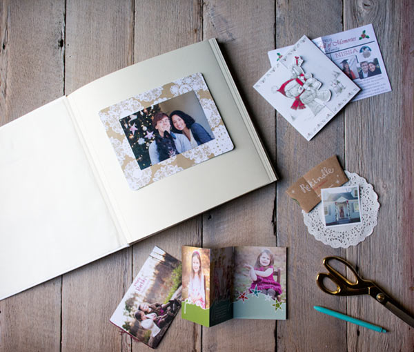 Diy Wedding Album Ideas: DIY Christmas Card Book The Blue Sky Papers Blog