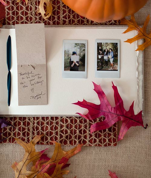 Thankful Place Cards - Free Thanksgiving Printable