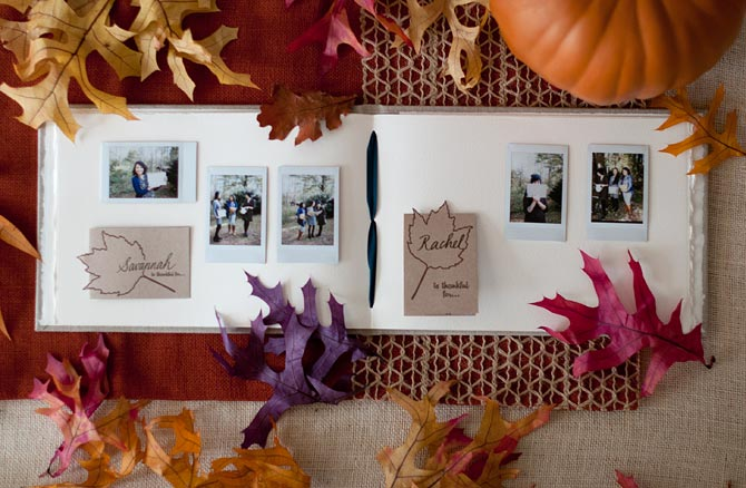 Thanksgiving Gratitude Album by Blue Sky Papers