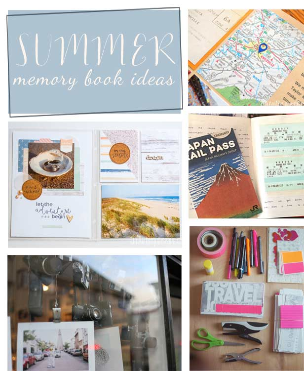 Our Favorite Summer Memory Book Ideas