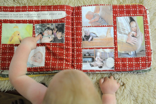 Soft Baby Scrapbook for Baby's First Year