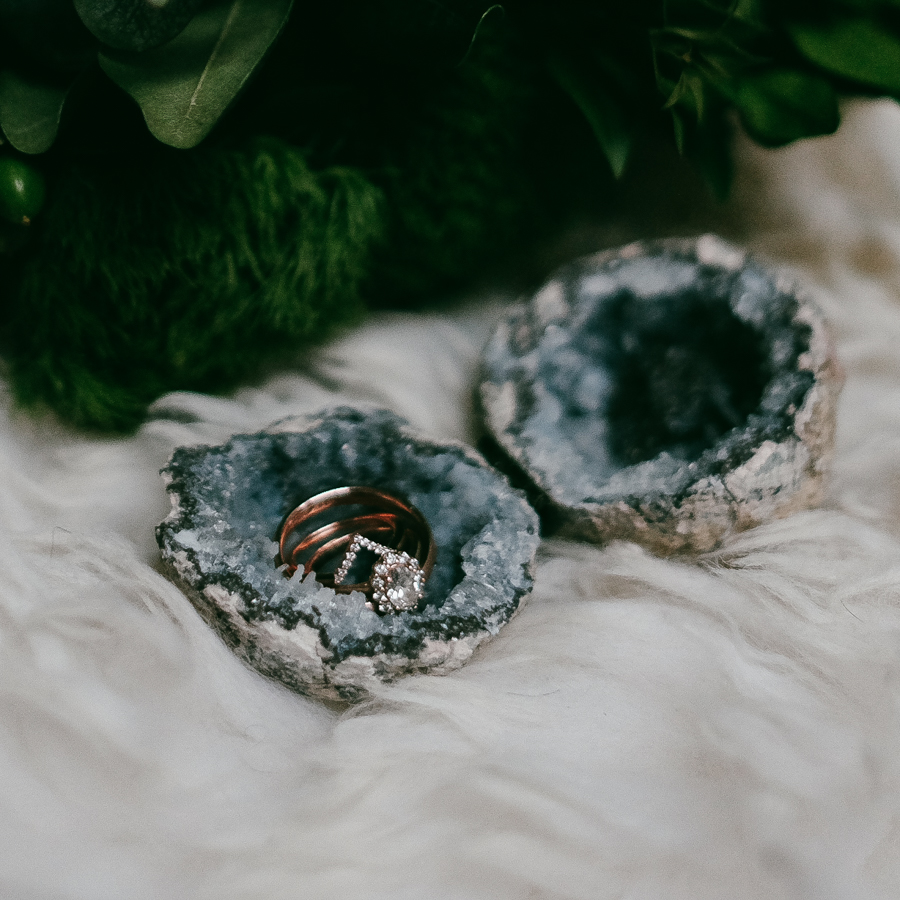5 Unique Ring Box Ideas for a NonTraditional Wedding with links to