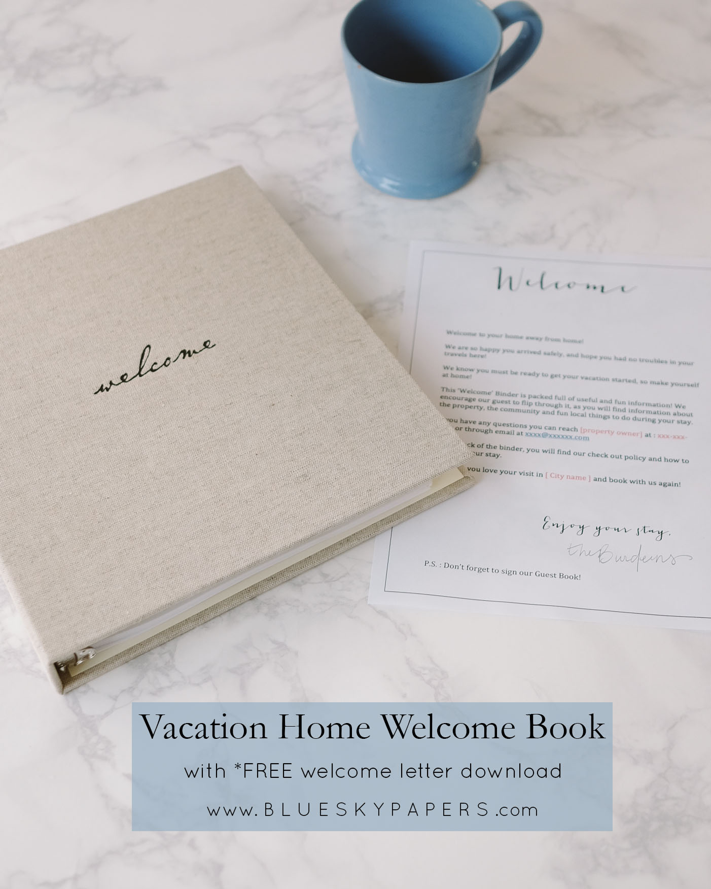 airbnb welcome letter. Black Bedroom Furniture Sets. Home Design Ideas