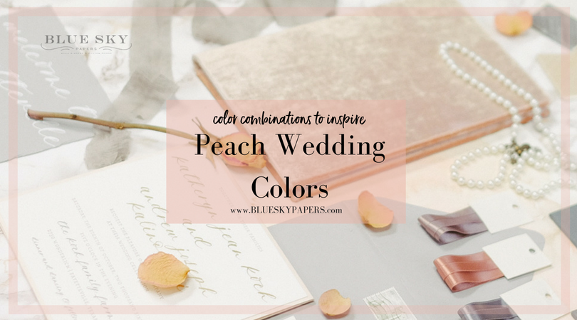 Peach-Wedding-Colors_Blue-Sky-Papers