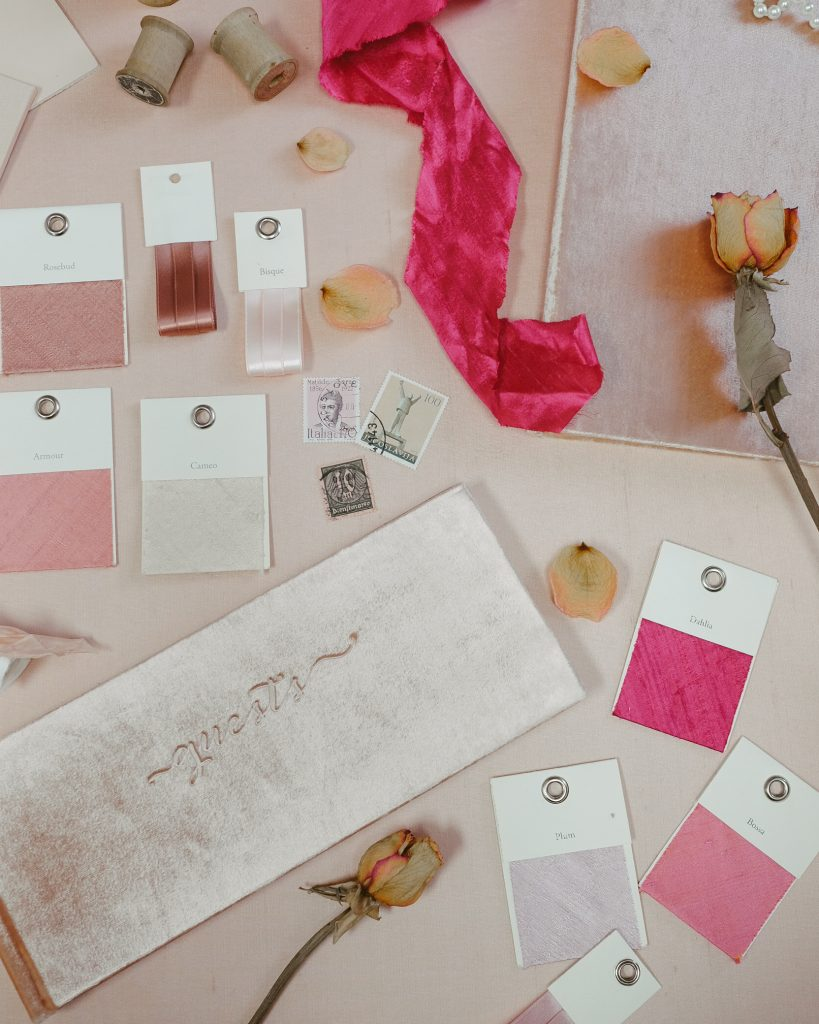 Peach-Wedding-Colors_Blue-Sky-Papers_Pink-and-peach-wedding
