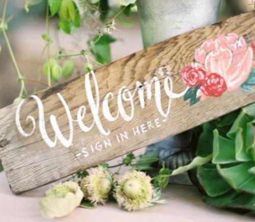 Style : #11 10 Types Fingerprint Signature Tree Guest Book DIY Wedding Party Sign 6 Colors Ink Thumbprint Tree Canvas Wedding Fingerprint