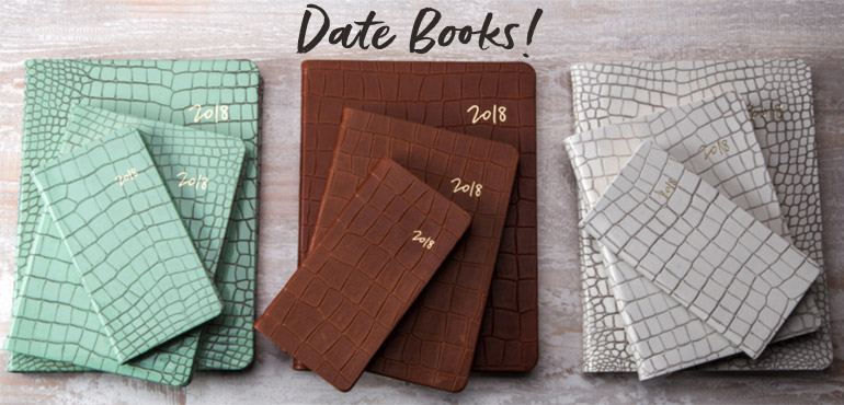 2018 Date Books from Blue Sky Papers