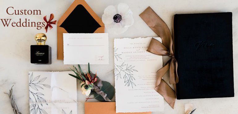 Wedding Vow Book - Black Velvet