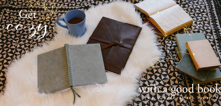 Leather Journals by Blue Sky Papers