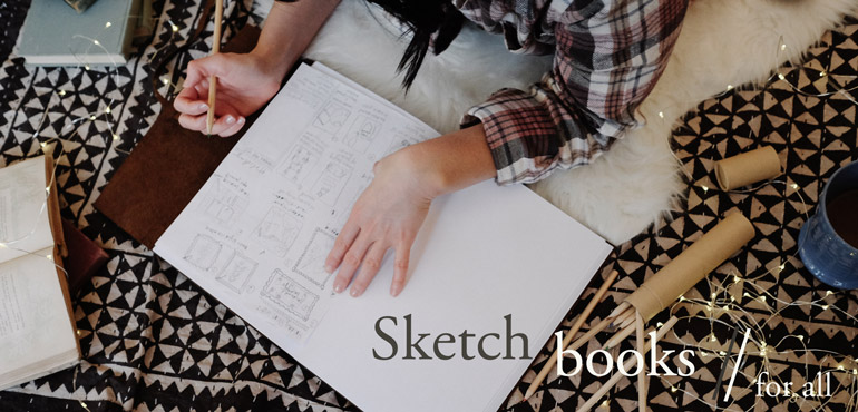 Blue Sky Papers Sketchbooks - perfect Christmas gift!