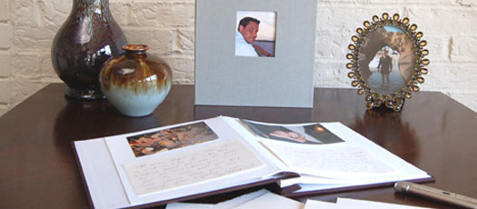 Guest Books for Memorials