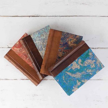 Marbled Paper Journals - 5 Designs - from Blue Sky Papers