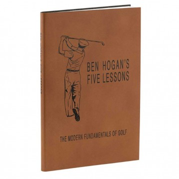 Ben Hogan's Five Lessons- The Modern Fundamentals of Golf- Bound in genuine leather- from Blue Sky Papers