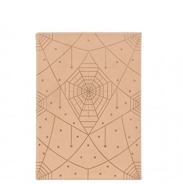 Art Deco Leather Journal - Natural Paramount - from Blue Sky Papers