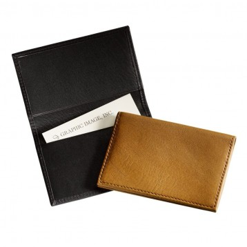 Bi-fold Traditional Leather