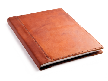 Rustic Leather Sketchbook - Saddle Leather