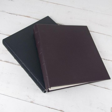 Large Leatherette Guest Books