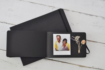 Moleskine Black Page Album - Large and Small