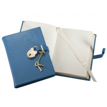 Padlock Diary - Blue - Blue Sky Papers