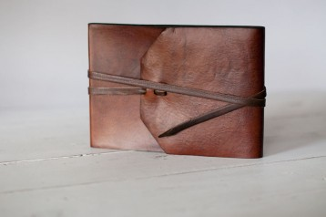 Sedona Leather Bound Guest Book- from Blue Sky Papers