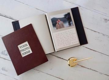 Memorial Guest Book, Keepsake of Memories