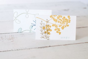 Botanical Letterpress Cards - perfect for any occasion!