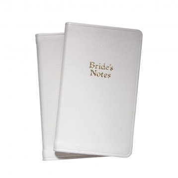 Leather Bride's Notes Journal
