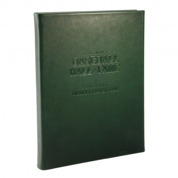 Bert Sugar's Baseball Hall of Fame, Leather-bound limited edition