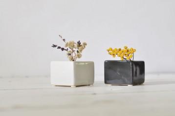 Ceramic Cubed Vase