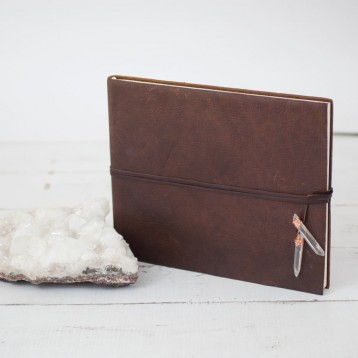 Rustic Gypsy Album - ideal for displaying your travel memories - by Blue Sky Papers