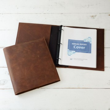 Natural Leather Binder