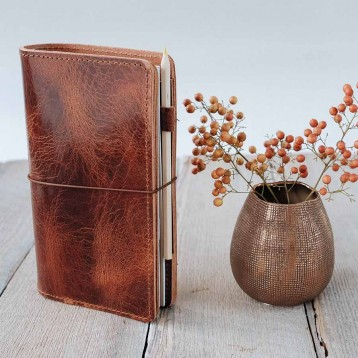 Foxy Fix refillable notebook - good looking - from Blue Sky Papers