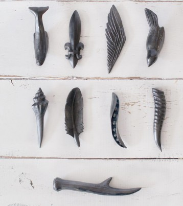 Carved Graphite objects - A.S. Batle Studio - Agelio Batle artist