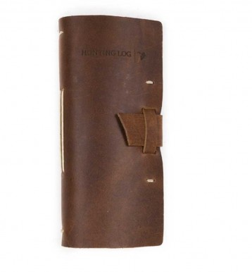 Rustic Leather Hunting Journal - Saddle - from Blue Sky Papers