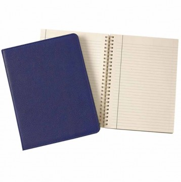 Leather Notebook- Indigo Leather- from Blue Sky Papers