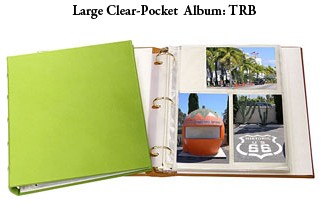 Refills for Clear Pocket Leather Albums