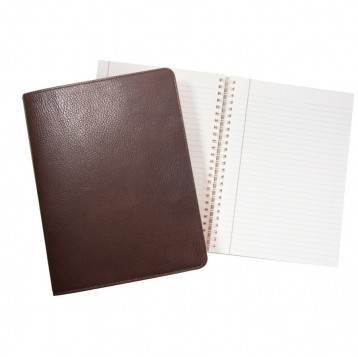 Mocca Leather Notebook