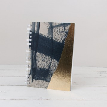 Moglea Weekly Jotter - Indigo - from Blue Sky Papers