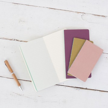 Moleskine Chapter Journals from Blue Sky Papers - available in two sizes