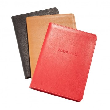 Leather Travel Journal - Traditional Leather - Blue Sky Papers