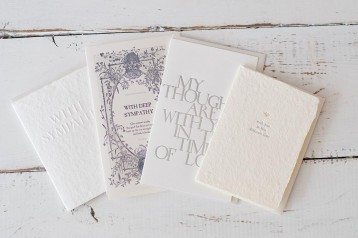 Oblation Sympathy Cards - available in four designs