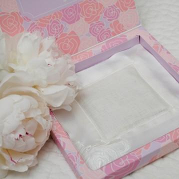 Linen & Silk Sachet