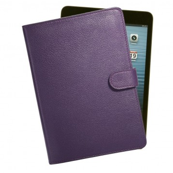 Leather iPad Mini Case - Purple
