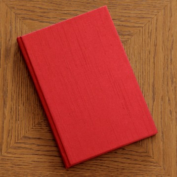 Red Journal - Writing journal with blank pages